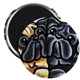 Love Pugs Magnet