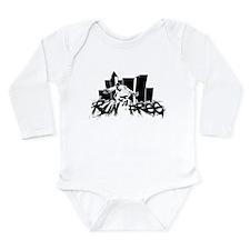 Run Free Long Sleeve Infant Bodysuit