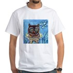 owls White T-Shirt