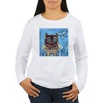 owls Women's Long Sleeve T-Shirt