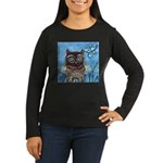 owls Women's Long Sleeve Dark T-Shirt