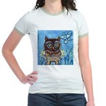 owls Jr. Ringer T-Shirt