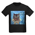owls Kids Dark T-Shirt