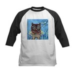 owls Kids Baseball Jersey