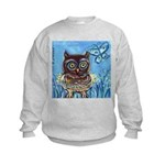 owls Kids Sweatshirt