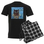 owls Men's Dark Pajamas