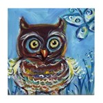 owls Tile Coaster