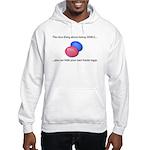 Senile Easter Egg Hunt Hooded Sweatshirt