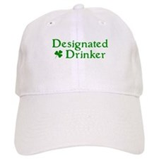 Designated Drinker Irish Baseball Cap
