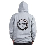 District 12 Hunger Games Gear Zipped Hoody