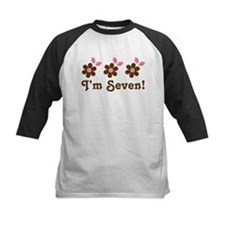 7th Birthday Flowers Tee