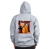 Katniss on Fire Hunger Games Gear Zip Hoodie