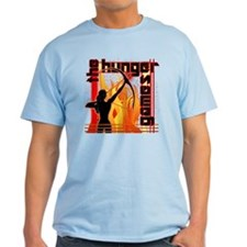 Katniss on Fire Hunger Games Gear T-Shirt