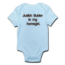 Judith Butler is my homegirl. Infant Bodysuit