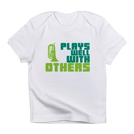Marching Baritone Plays Well Infant T-Shirt
