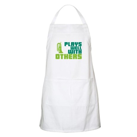 Marching Baritone Plays Well Apron
