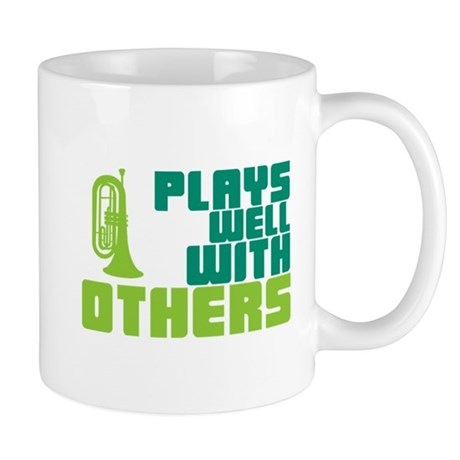 Marching Baritone Plays Well Mug