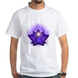 "Purple ""Third Eye"" Chakra Lotus Shirt"
