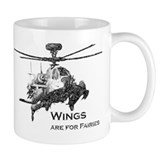 Wings are for Faries AH-64D Mug