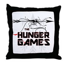 Hunger Games Gear Throw Pillow