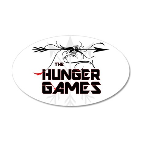 Hunger Games Gear 38.5 x 24.5 Oval Wall Peel