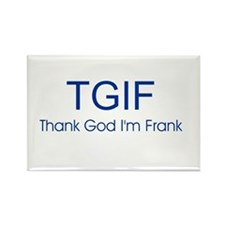 TGIF Rectangle Magnet