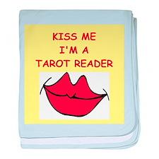 tarot cards baby blanket