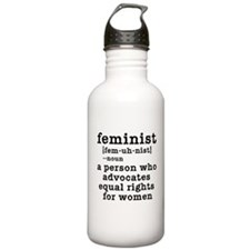 Feminist Definition Water Bottle