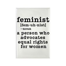 Feminist Definition Rectangle Magnet