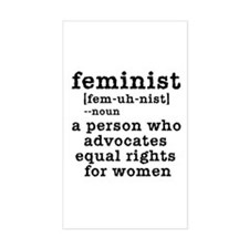 Feminist Definition Decal