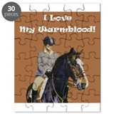 I Love My Warmblood! Puzzle