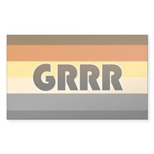 Bear 'Grrr' Decal