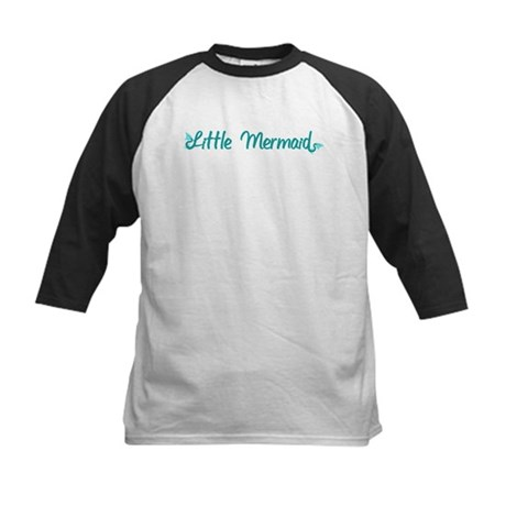 Little Mermaid Kids Baseball Jersey