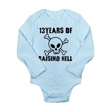 13 Years of Raising Hell Baby Outfits