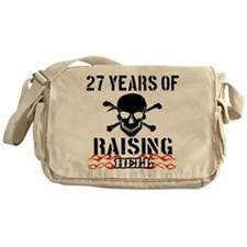 27 Years of Raising Hell Messenger Bag