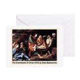 Entombment of Christ Greeting Cards (Pk of 10)