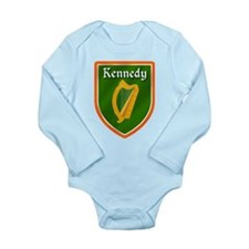 Kennedy Family Crest Long Sleeve Infant Bodysuit
