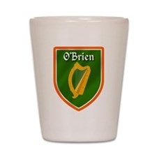 O'Brien Family Crest Shot Glass