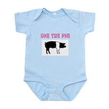 Dig the Pig Infant Bodysuit