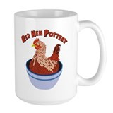 Red Hen Pottery Mug