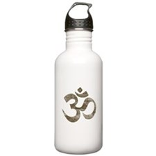 Vintage Om Symbol Water Bottle