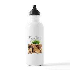 Easter Dogue de Bordeaux Water Bottle
