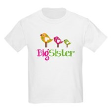 Tweet Birds Big Sister T-Shirt