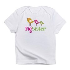 Tweet Birds Big Sister Infant T-Shirt