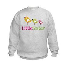 Tweet Birds Little Sister Sweatshirt