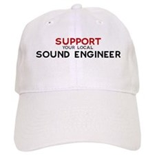 Support: SOUND ENGINEER Baseball Cap
