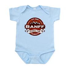 Banff Natl Park Crimson Infant Bodysuit