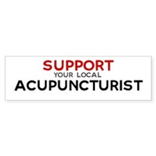 Support: ACUPUNCTURIST Bumper Bumper Sticker