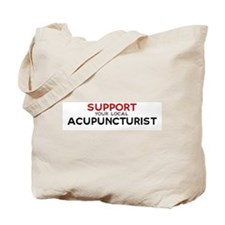 Support:  ACUPUNCTURIST Tote Bag