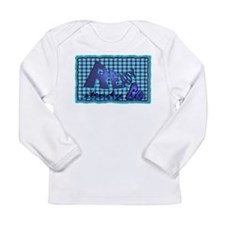 ready steady go Long Sleeve Infant T-Shirt